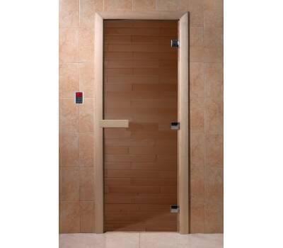 Дверь Doorwood Бронза Прозрачное 700*1900, 8 мм