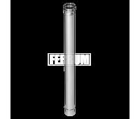Одностенные дымоходы Ferrum AISI 430/0,5 Труба 1 м