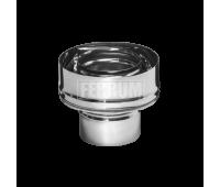Двустенные дымоходы Ferrum AISI 430/0,5 + 430/0,5 Сэндвич-старт