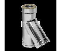 Двустенные дымоходы Ferrum AISI 430/0,5 + 430/0,5 Сэндвич-тройник 135°