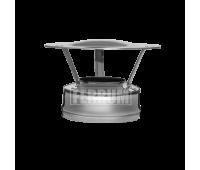 Двустенные дымоходы Ferrum AISI 430/0,5 + 430/0,5 Сэндвич-оголовок